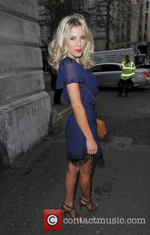 Mollie King and London Fashion Week 1