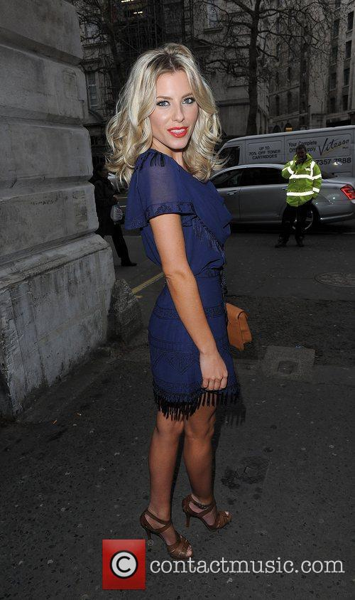 Mollie King and London Fashion Week 13