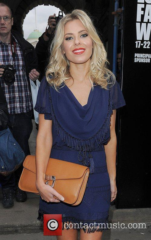 Mollie King and London Fashion Week 15