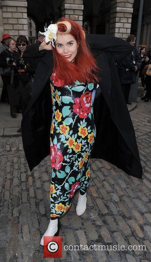 Paloma Faith and London Fashion Week 5