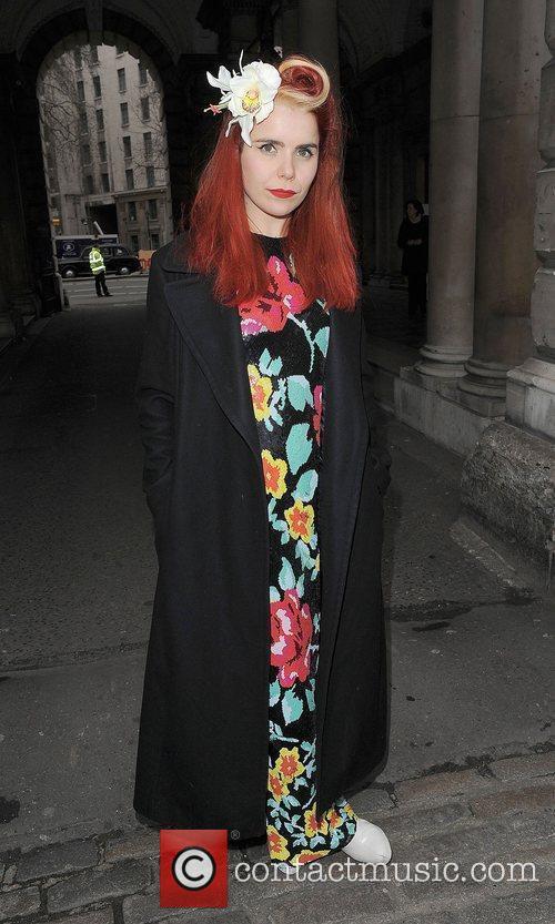 Paloma Faith and London Fashion Week 14