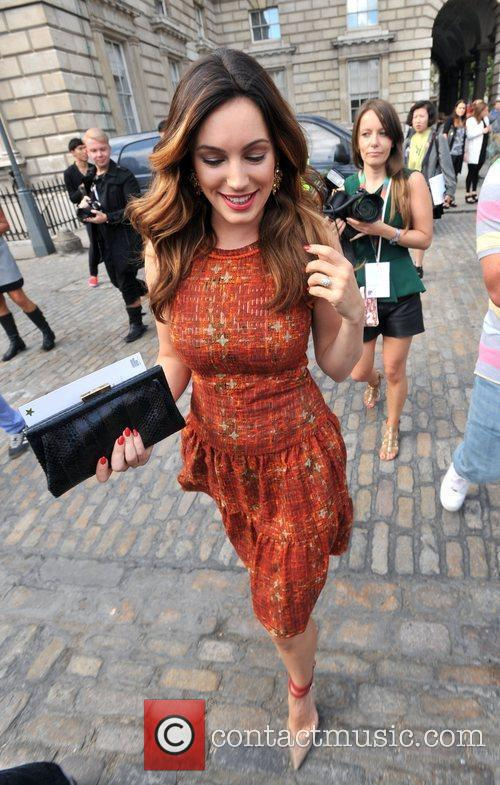 Kelly Brook and London Fashion Week 5