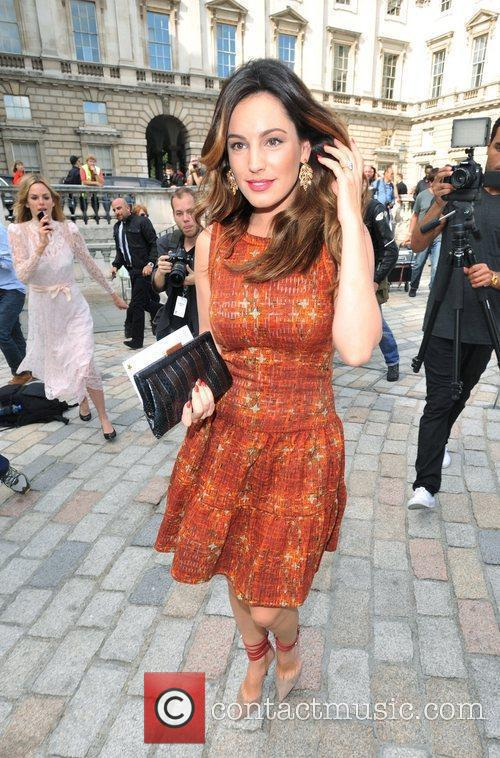 Kelly Brook and London Fashion Week 7