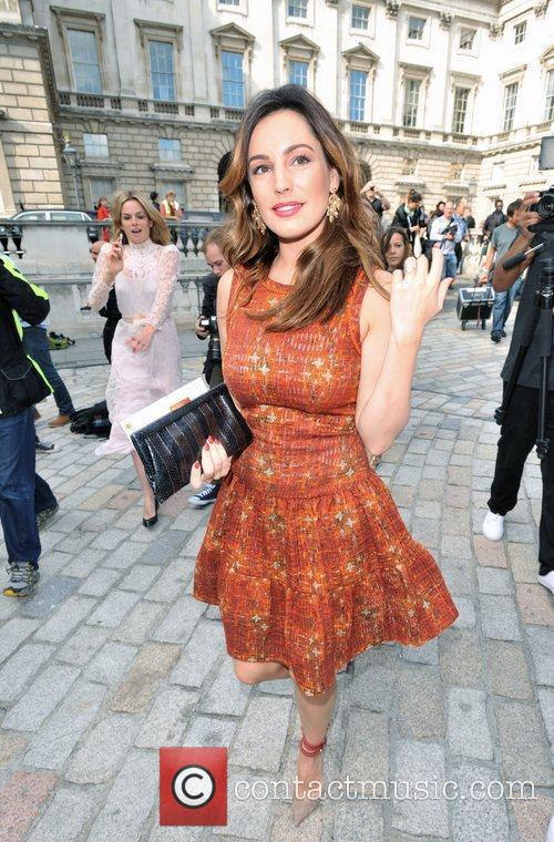 Kelly Brook and London Fashion Week 10