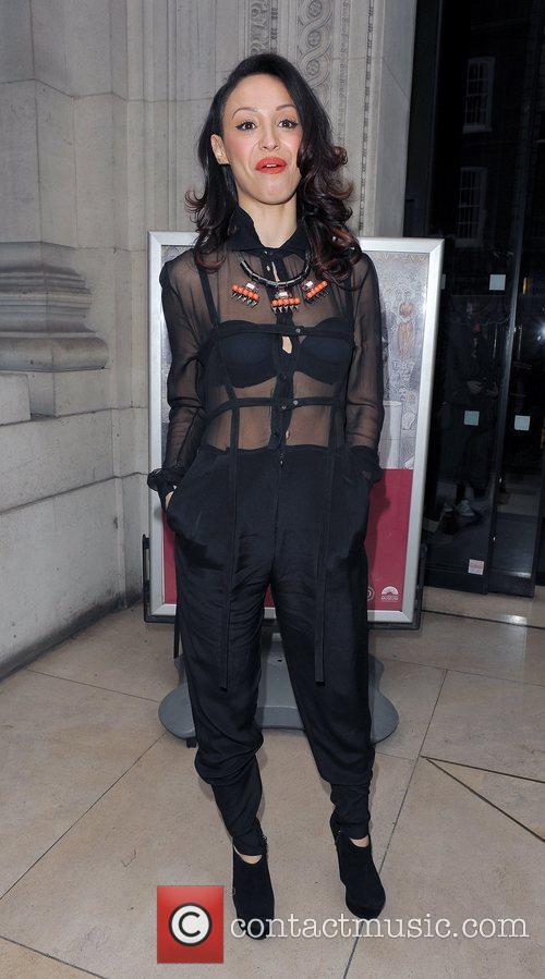 Amelle Berrabah and London Fashion Week 5