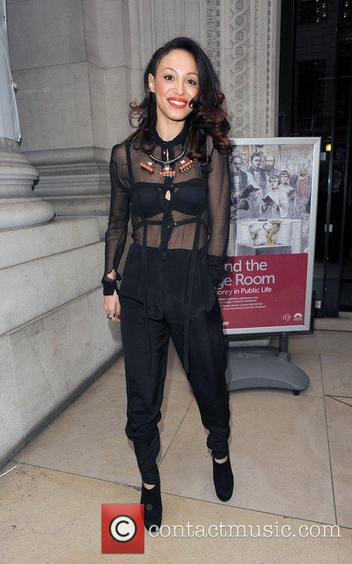 Amelle Berrabah and London Fashion Week 6