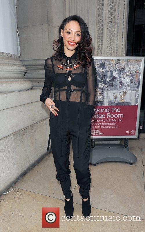 Amelle Berrabah and London Fashion Week 7