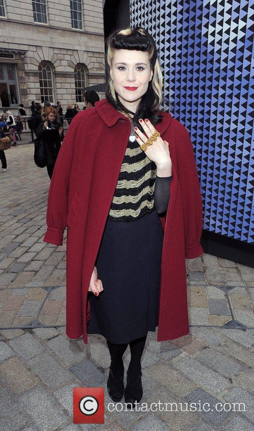 Kate Nash and London Fashion Week 1