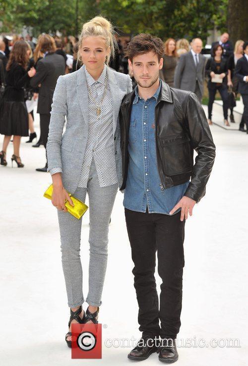 Gabriella Wilde, Roo Panes and London Fashion Week 2