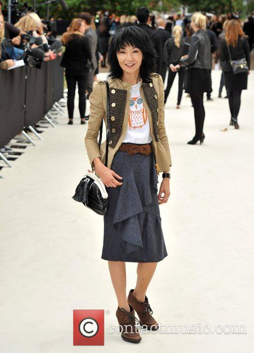 Maggie Cheung and London Fashion Week 2