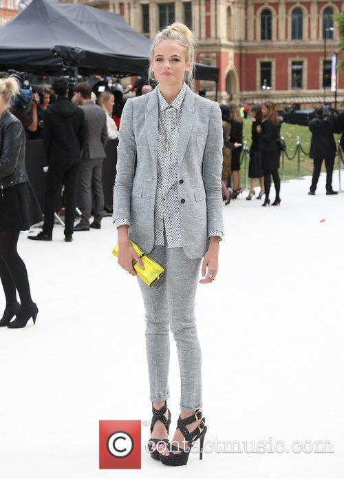 Gabriella Wilde and London Fashion Week 6