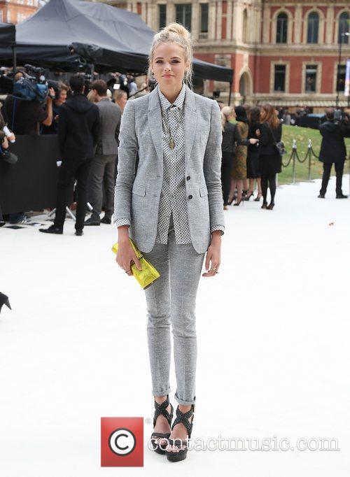 Gabriella Wilde and London Fashion Week 8