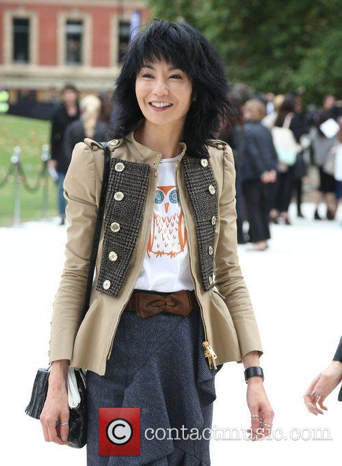 Maggie Cheung and London Fashion Week 3