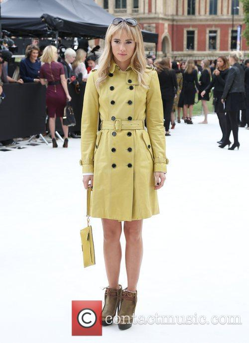 Suki Waterhouse, London Fashion Week