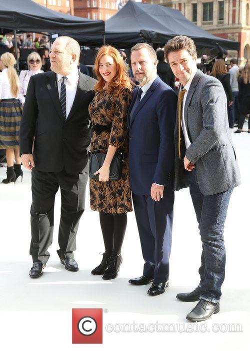 Harvey Weinstein, Rosalie Craig, Julian Ovenden and London Fashion Week 2