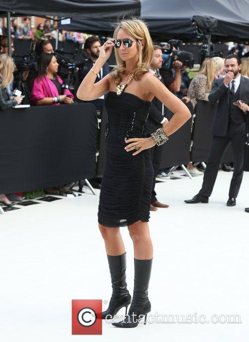 Lady Victoria Hervey and London Fashion Week 5
