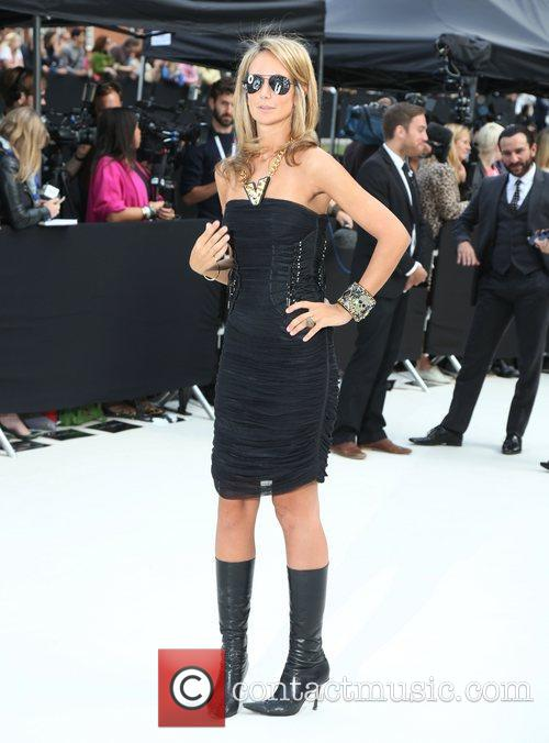Lady Victoria Hervey and London Fashion Week 1