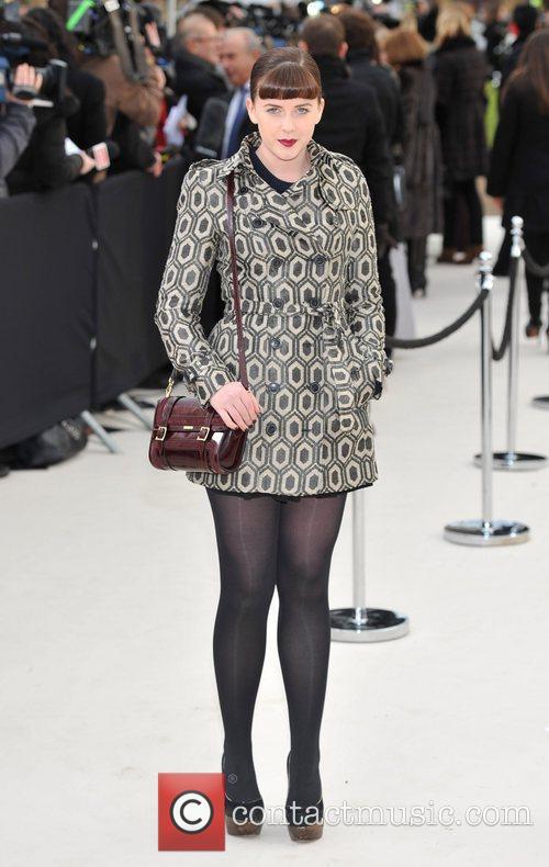 Alexandra Roach London Fashion Week - Autumn/Winter 2012:...