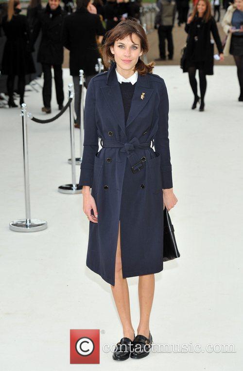 Alexa Chung and London Fashion Week 2