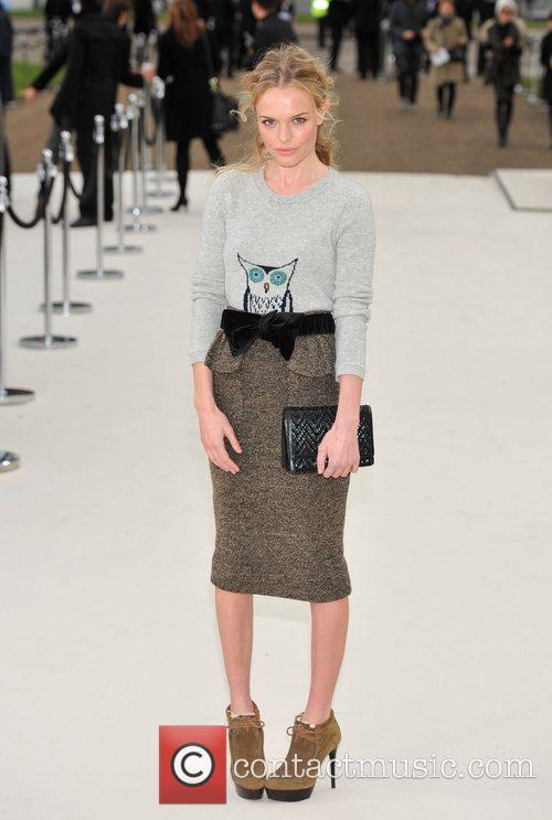 Kate Bosworth London Fashion Week - Autumn/Winter 2012...