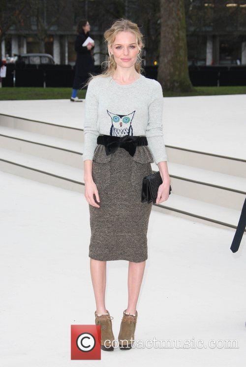 Kate Bosworth and London Fashion Week 7