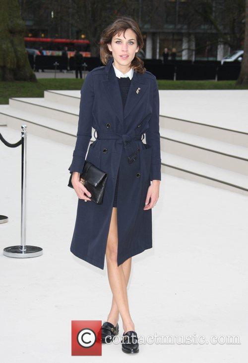 Alexa Chung and London Fashion Week 4