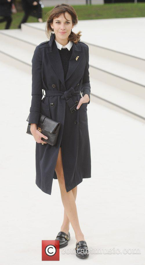 Alexa Chung and London Fashion Week 6
