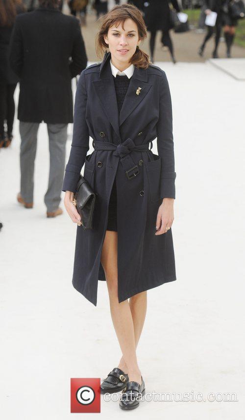 Alexa Chung and London Fashion Week 7