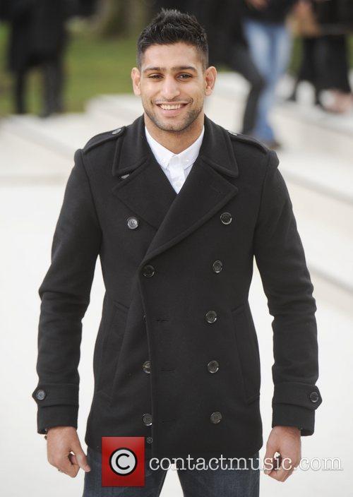 Amir Khan and London Fashion Week 2