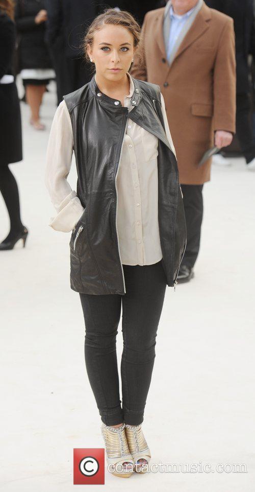 Chloe Green - London Fashion Week - Autumn/Winter...