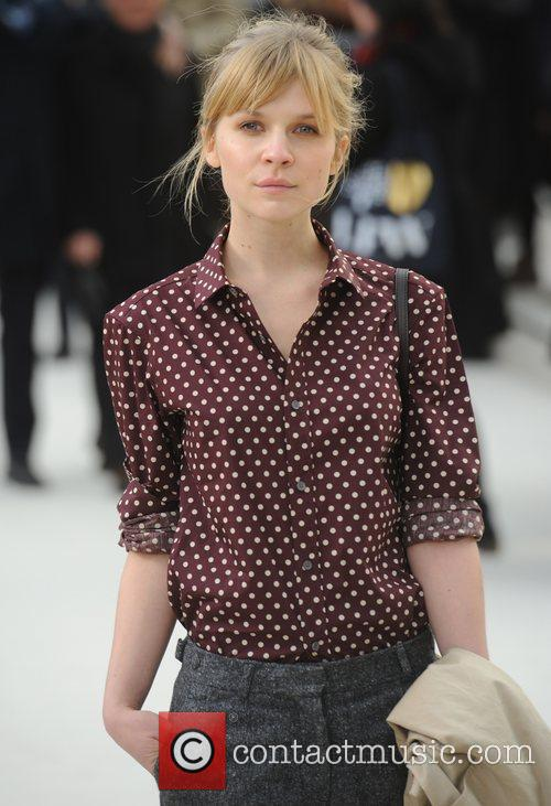 Clemence Poesy and London Fashion Week 3