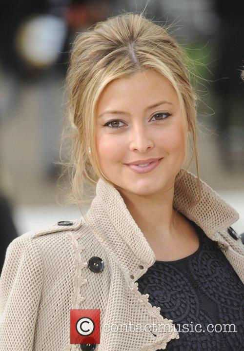 Holly Valance and London Fashion Week 4