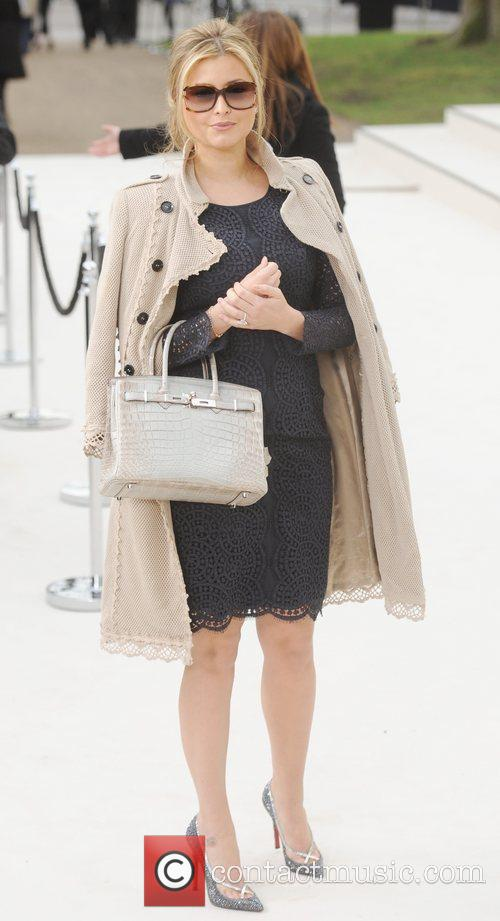 Holly Valance and London Fashion Week 5