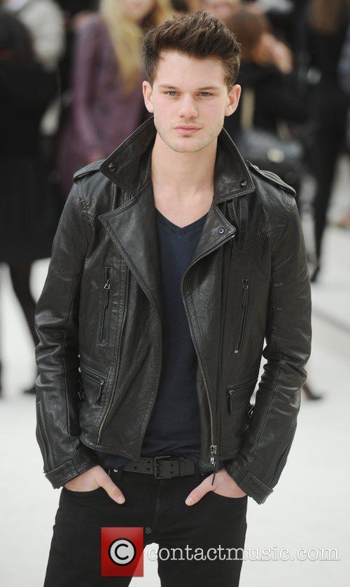 Jeremy Irvine - London Fashion Week - Autumn/Winter...