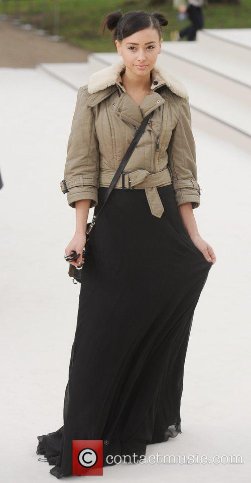 Leah Weller - London Fashion Week - Autumn/Winter...