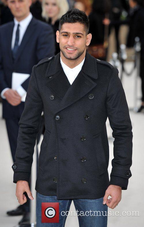 Amir Khan and London Fashion Week 3