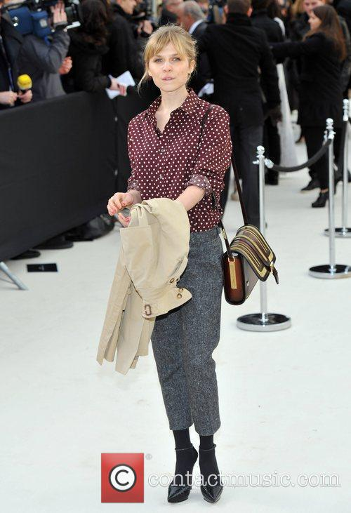 Clemence Poesy and London Fashion Week 4