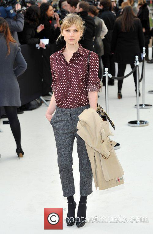 Clemence Poesy and London Fashion Week 5