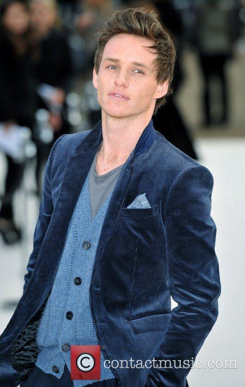 Eddie Redmayne London Fashion Week - Autumn/Winter 2012...