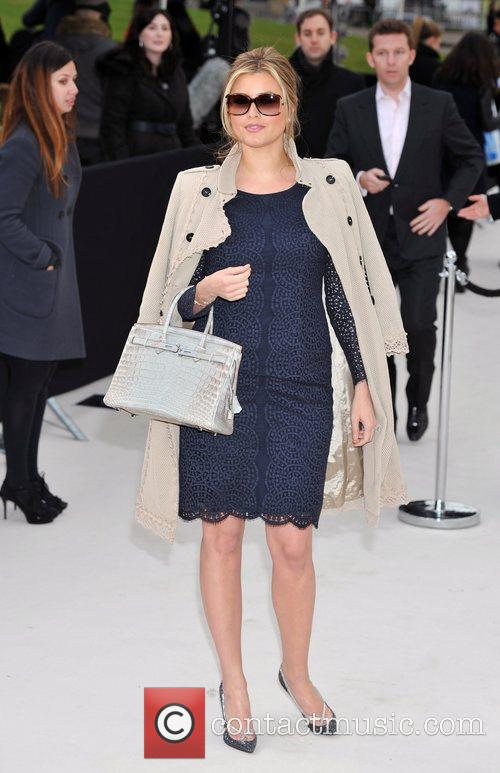 Holly Valance and London Fashion Week 6