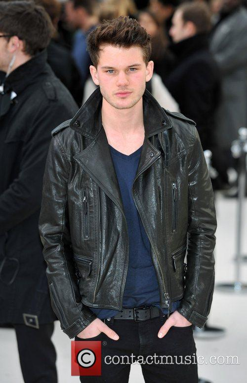 Jeremy Irvine London Fashion Week - Autumn/Winter 2012...