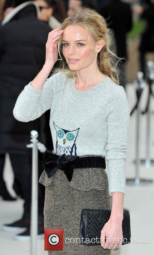 Kate Bosworth and London Fashion Week 1