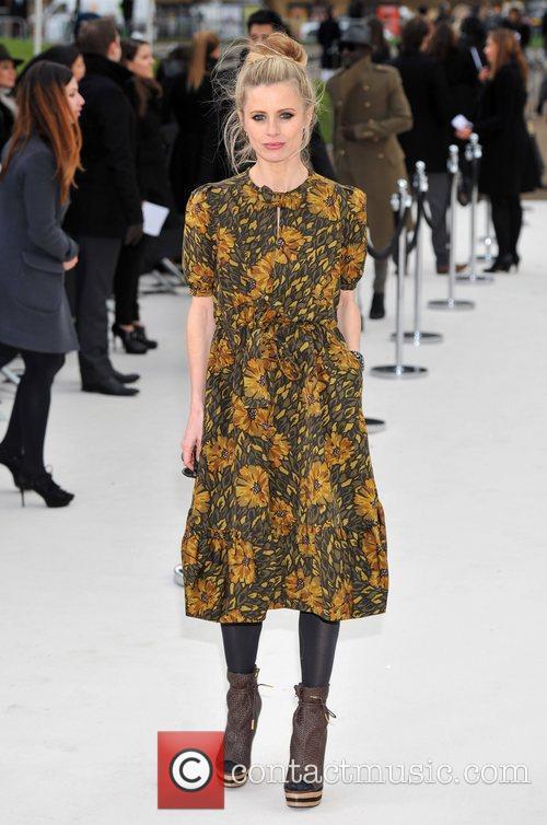 Laura Bailey London Fashion Week - Autumn/Winter 2012...