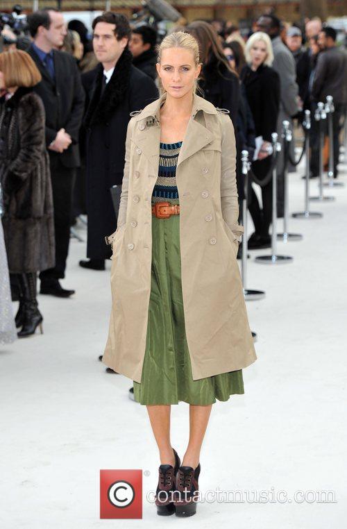 Poppy Delevigne London Fashion Week - Autumn/Winter 2012...