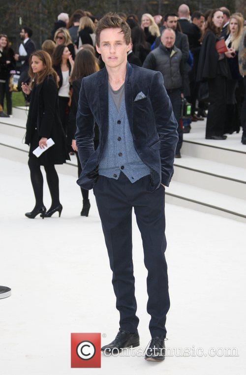 Eddie Redmayne and London Fashion Week 4