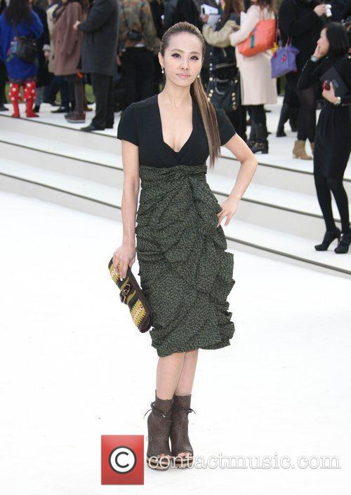 Vivian Hsu and London Fashion Week 3