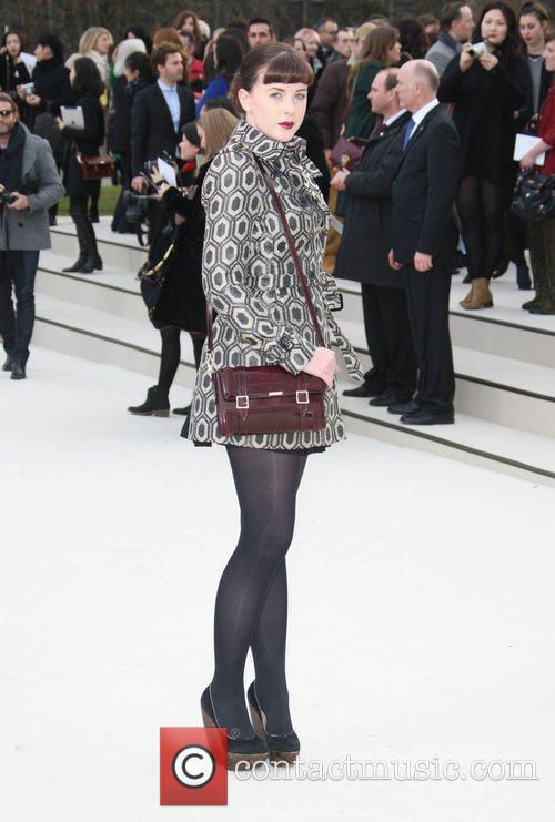 Alexandra Roach and London Fashion Week 1