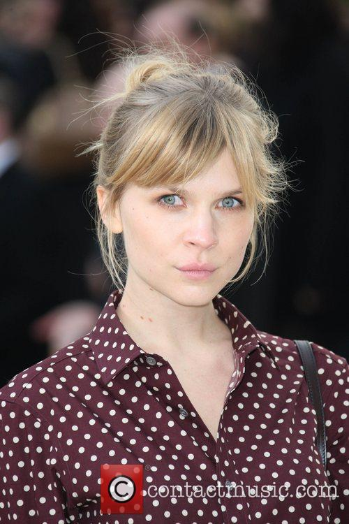 Clemence Poesy, London Fashion Week