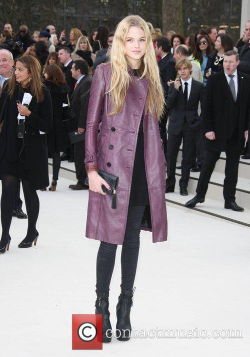 Gabriella Wilde and London Fashion Week 3