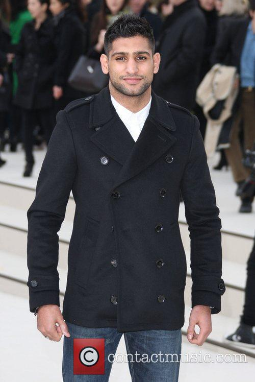 Amir Khan, London Fashion Week